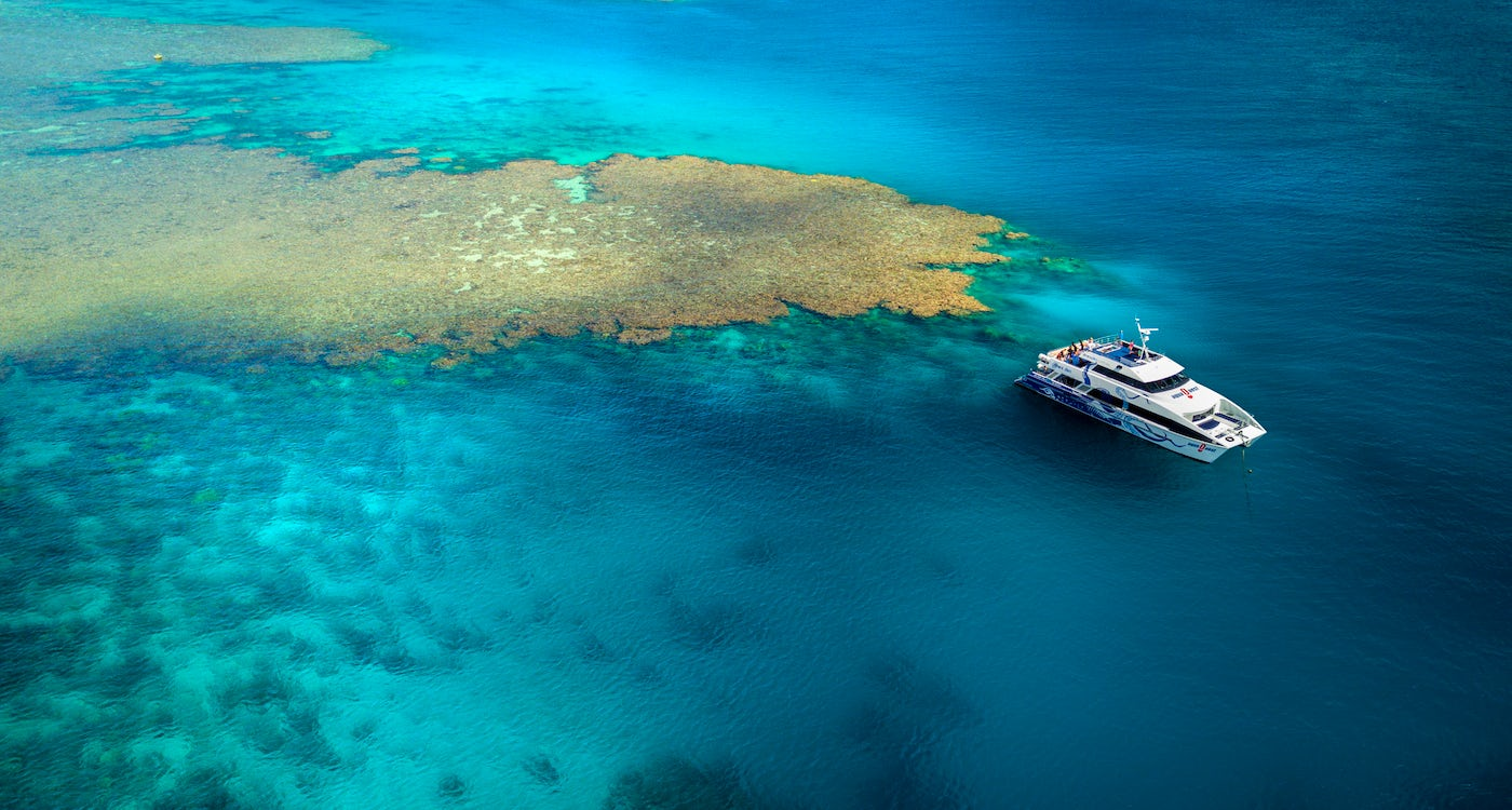 great barrier reef outer reefs package