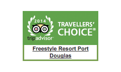 Freestyle Resort Port Douglas Travellers Choice Award 2014