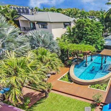 Freestyle Port Douglas Resort accommodation aerial view