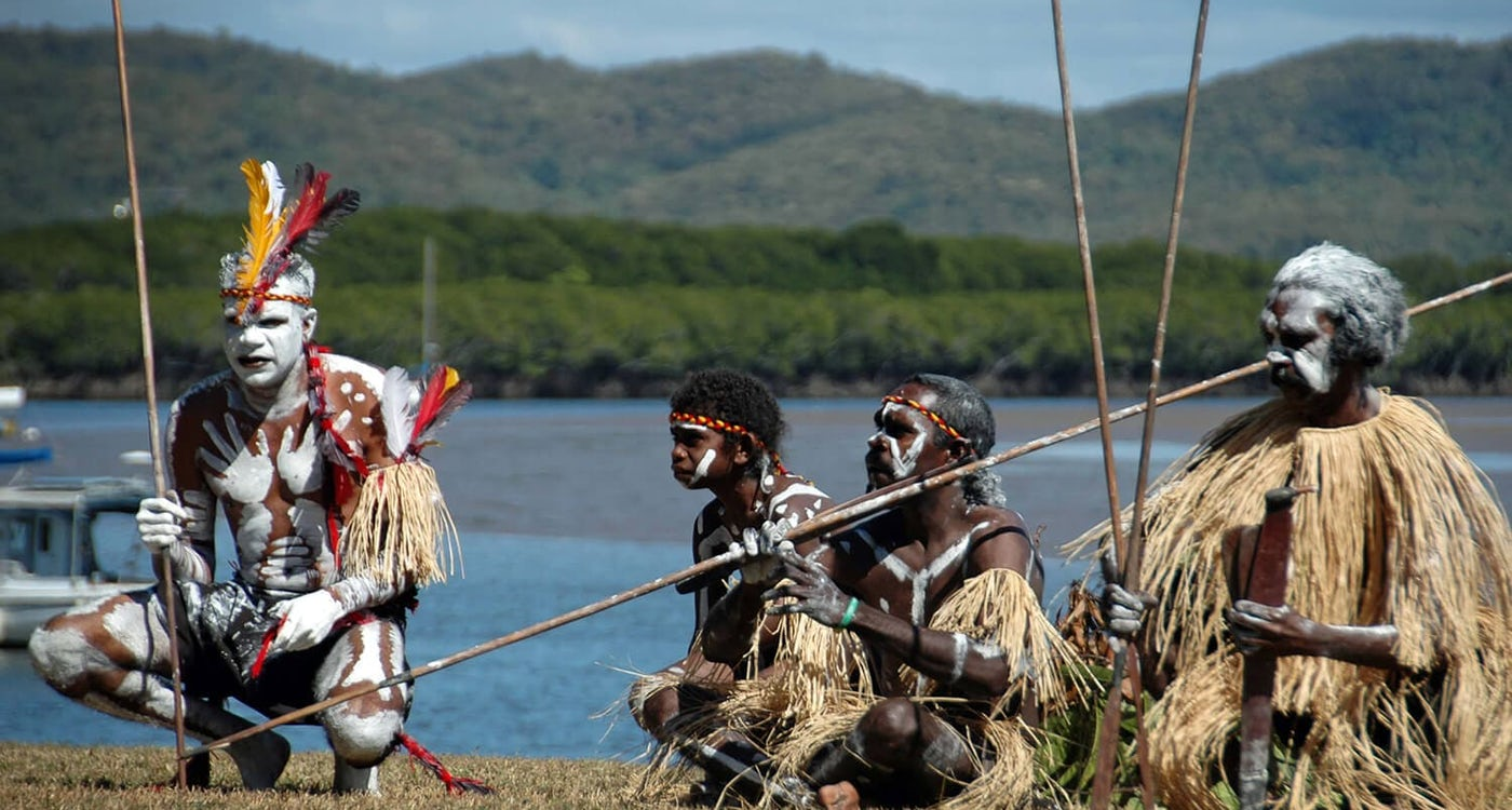 Indigenous performance at the Cooktown & Cape York Expo