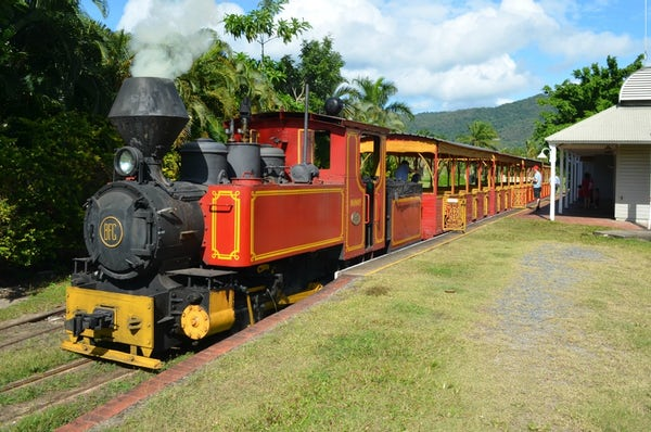 Things to do in Port Douglas Ballyhooley Steam Railway